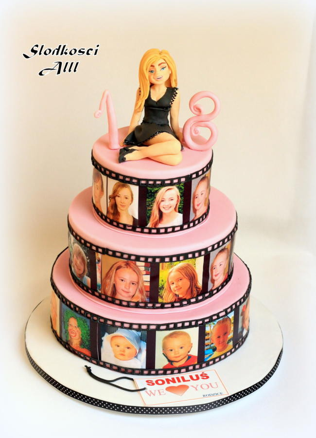 Best ideas about 18 Birthday Cake . Save or Pin 18th Birthday Cake cake by Alll CakesDecor Now.