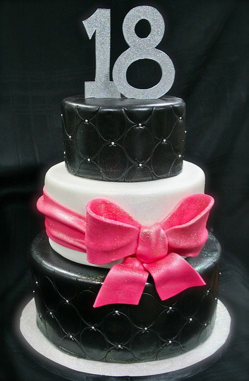 Best ideas about 18 Birthday Cake . Save or Pin 18th Birthday Cake Ideas Birthday Cakes Now.