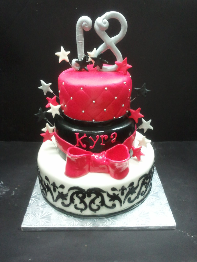 Best ideas about 18 Birthday Cake . Save or Pin The World s most recently posted photos of 18th and stars Now.