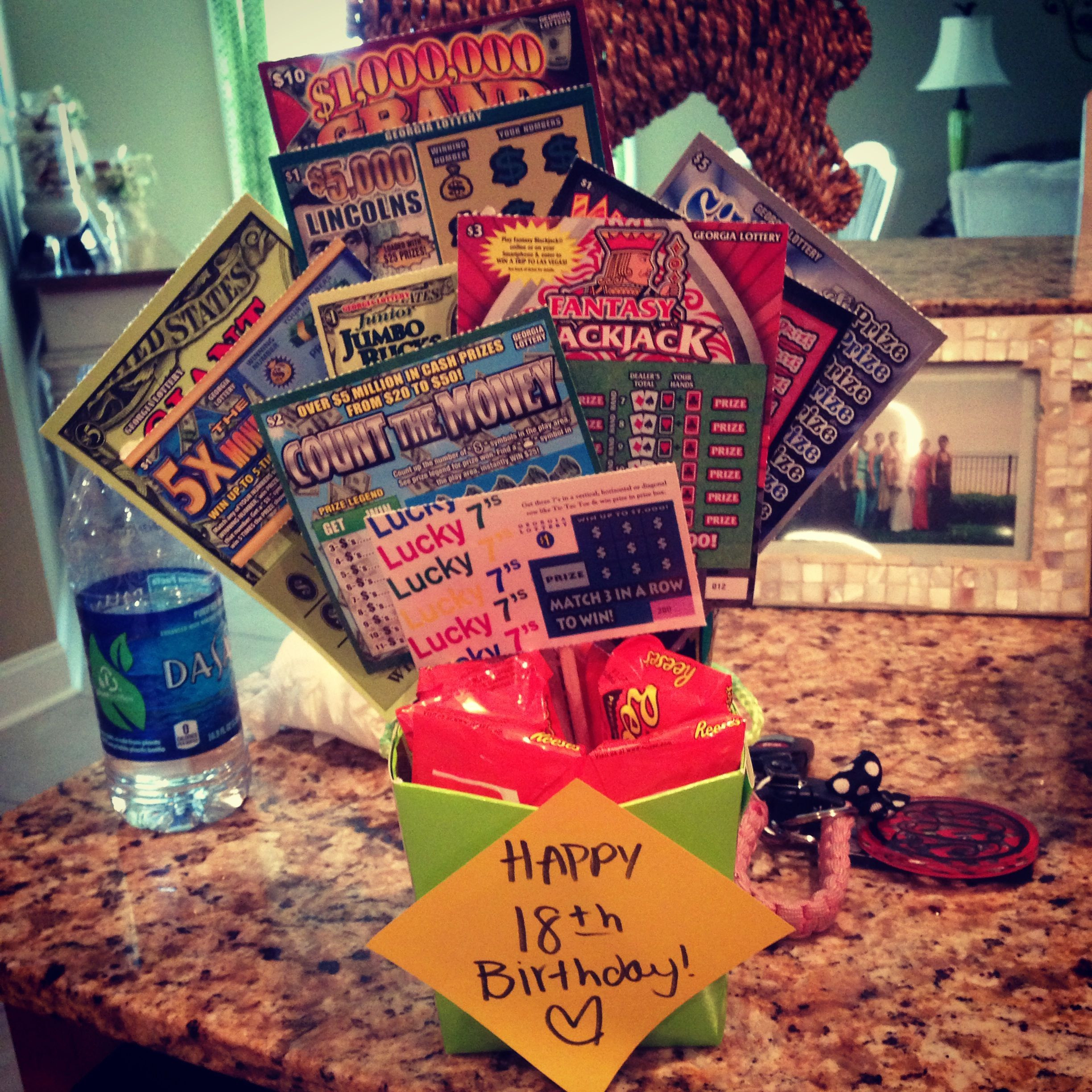 Best ideas about 18 Birthday Present Ideas . Save or Pin 18th birthday t scratchoffs Gifts Now.
