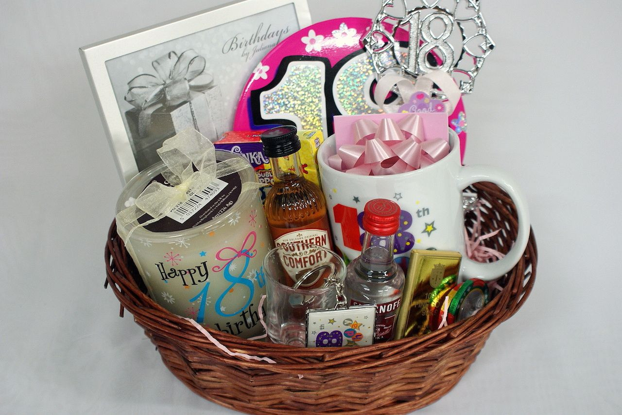 Best ideas about 18Th Anniversary Gift Ideas . Save or Pin Personalised 18th Gift Basket for Girls GIFTS&DIY Now.