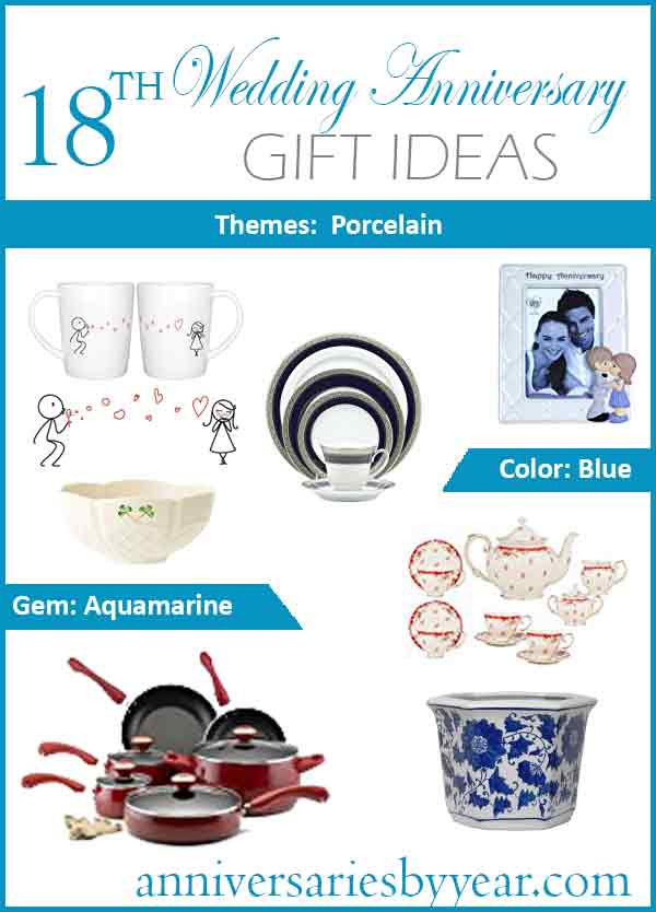 Best ideas about 18Th Anniversary Gift Ideas . Save or Pin 18th Anniversary Eighteenth Wedding Anniversary Gift Ideas Now.
