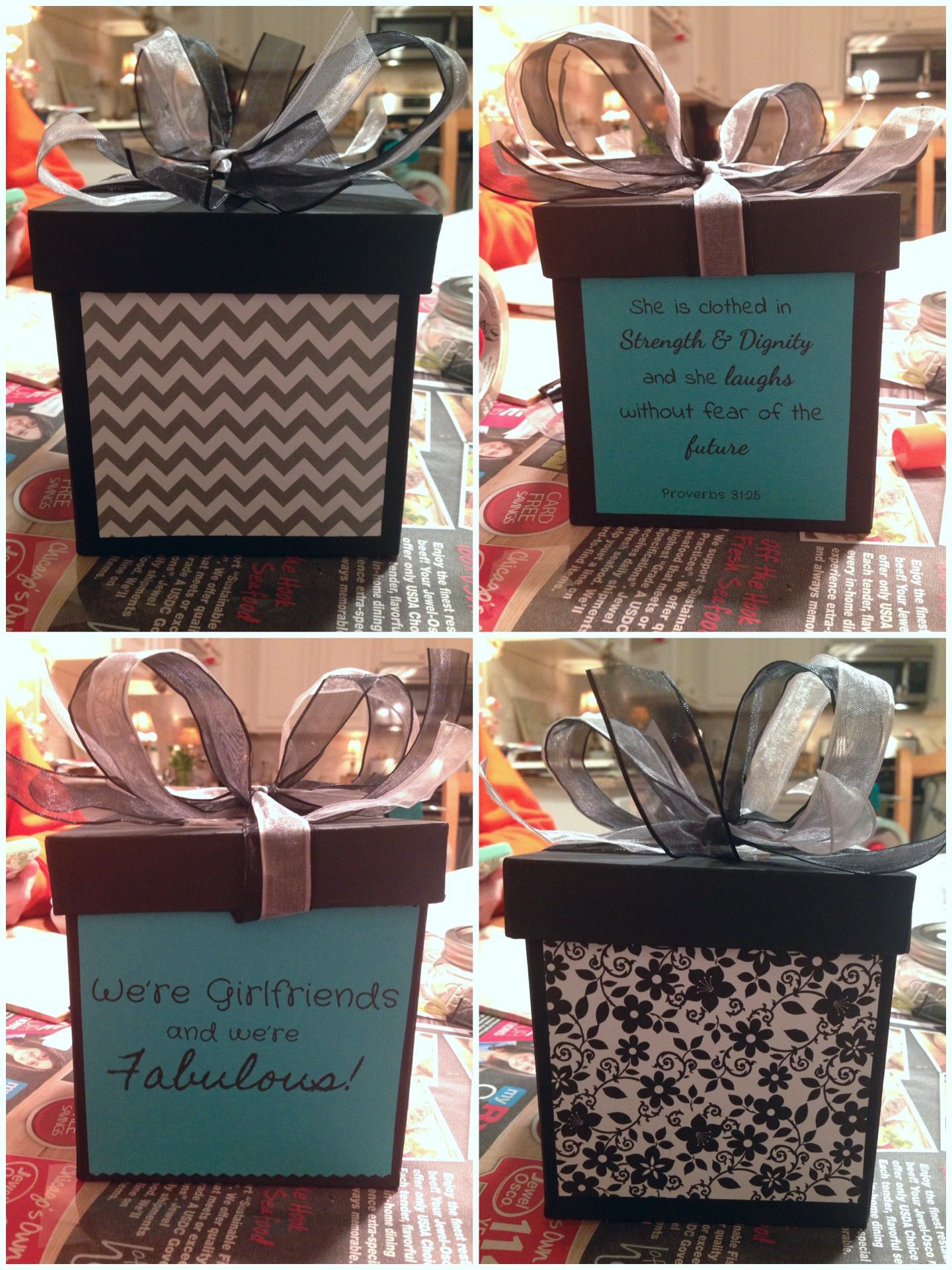 Best ideas about 18Th Bday Gift Ideas For Her . Save or Pin DIY Gift box I made for my friends 18th Birthday Now.