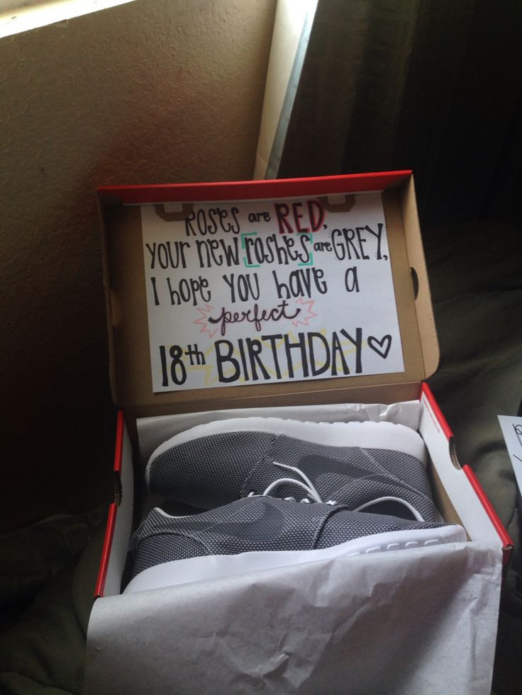 Best ideas about 18Th Birthday Gift Ideas For Boyfriend . Save or Pin Die besten 25 18th birthday present ideas Ideen auf Now.