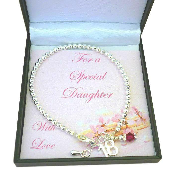 Best ideas about 18th Birthday Gift Ideas For Daughter . Save or Pin 18th Birthday Gift Birthstone Bracelet Gift for Daughter Now.