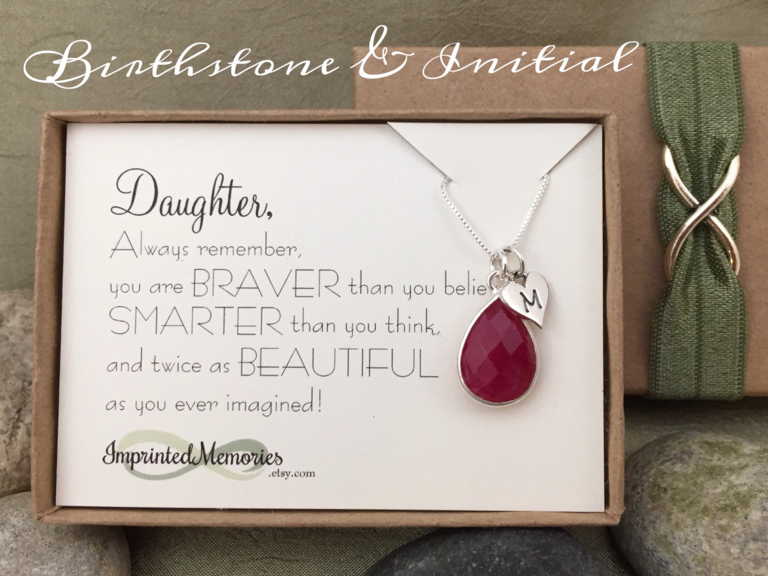 Best ideas about 18th Birthday Gift Ideas For Daughter . Save or Pin Gift for Daughter Jewelry Sterling Silver Birthstone Now.