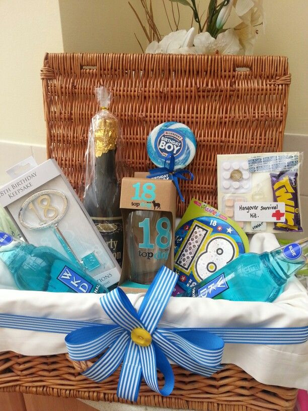 Best ideas about 18Th Birthday Gift Ideas For Son . Save or Pin My son s 18th birthday hamper Now.