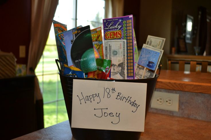 Best ideas about 18Th Birthday Gift Ideas For Son . Save or Pin A t for my son on his 18th Birthday It is a mix of Now.