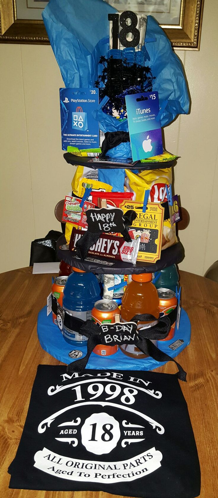 Best ideas about 18th Birthday Gift Ideas . Save or Pin 17 Best ideas about Husband Birthday Gifts on Pinterest Now.