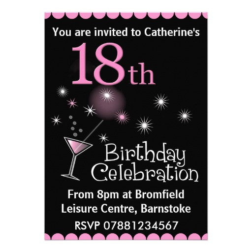 Best ideas about 18th Birthday Party Invitations . Save or Pin 18th birthday invitation maker and how to make your own Now.
