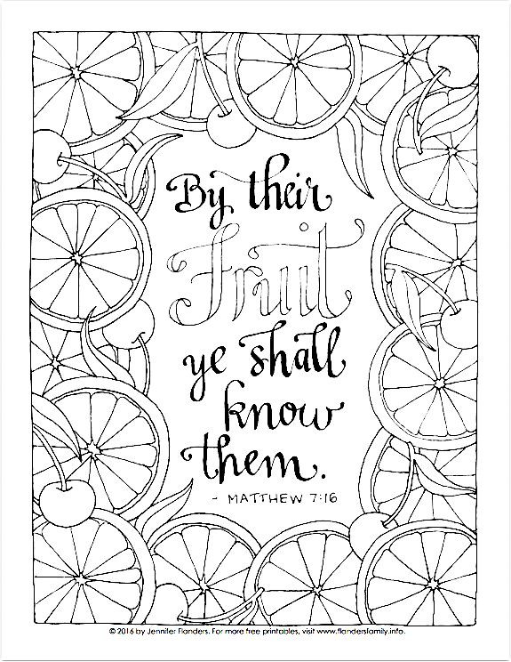 Best ideas about 1950'S Printable Coloring Pages . Save or Pin Free printable coloring page Matthew 7 16 Now.