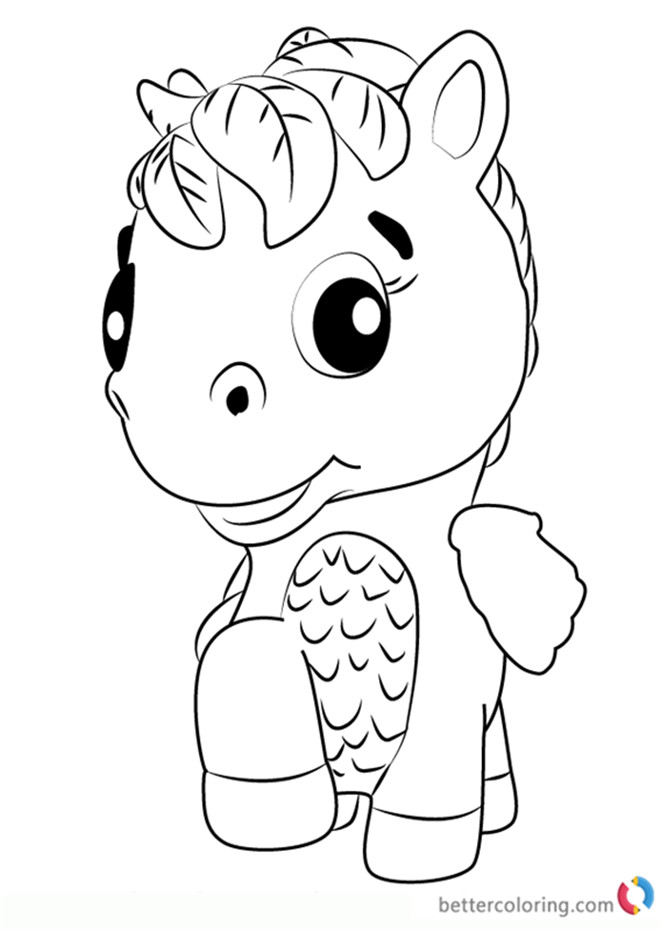 Best ideas about 1950'S Printable Coloring Pages . Save or Pin Ponette from Hatchimals Coloring Pages Free Printable Now.
