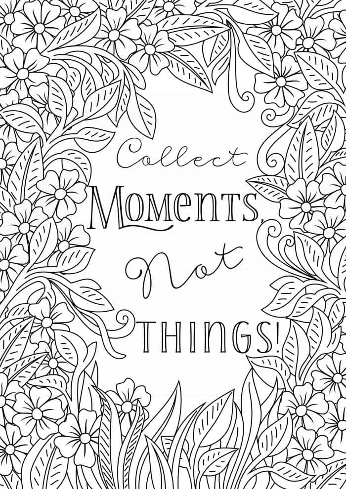 Best ideas about 1950'S Printable Coloring Pages . Save or Pin Free Printable Uplifting Colouring Pages to lift your mood Now.