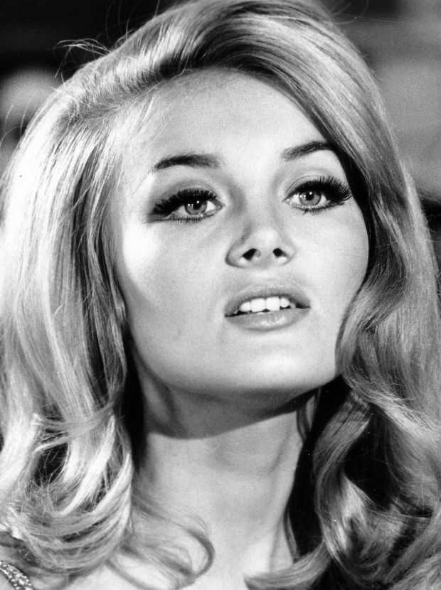 Best ideas about 1960S Old Hollywood Hairstyle Women . Save or Pin Barbara Bouchet 1960s hair and lashes like this never go Now.