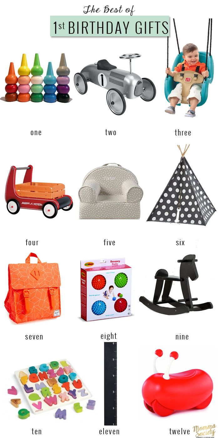 Best ideas about 1st Birthday Gift Ideas For Boys . Save or Pin The Best First Birthday Gifts For The Modern Baby Now.