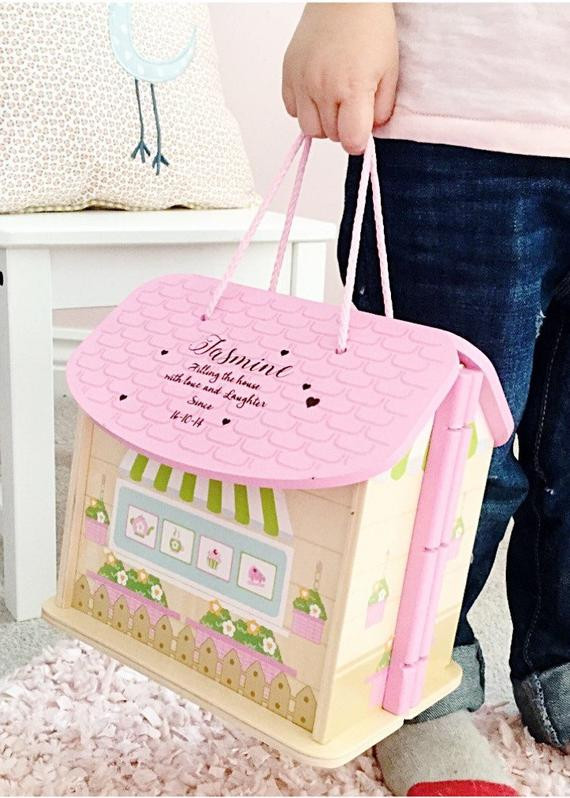 Best ideas about 1st Birthday Gifts For Girl . Save or Pin Girls first birthday t personalised dolls house 1st Now.