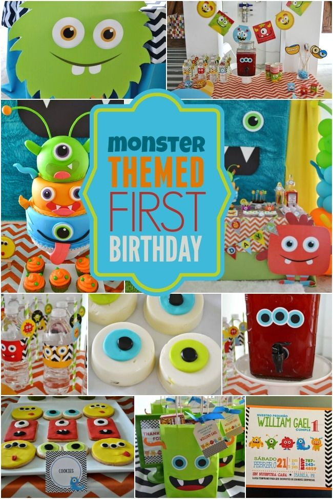 Best ideas about 1st Birthday Ideas For Boys . Save or Pin 25 Fun Birthday Party Theme Ideas Now.