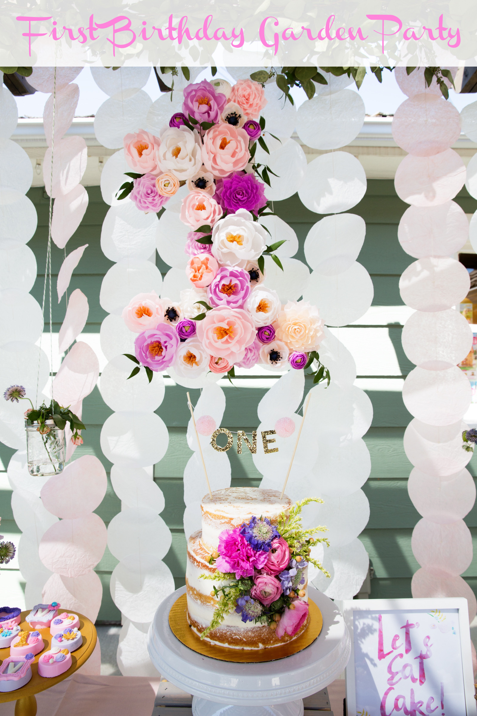 Best ideas about 1st Birthday Party . Save or Pin Vivian s Garden 1st Birthday Party Now.