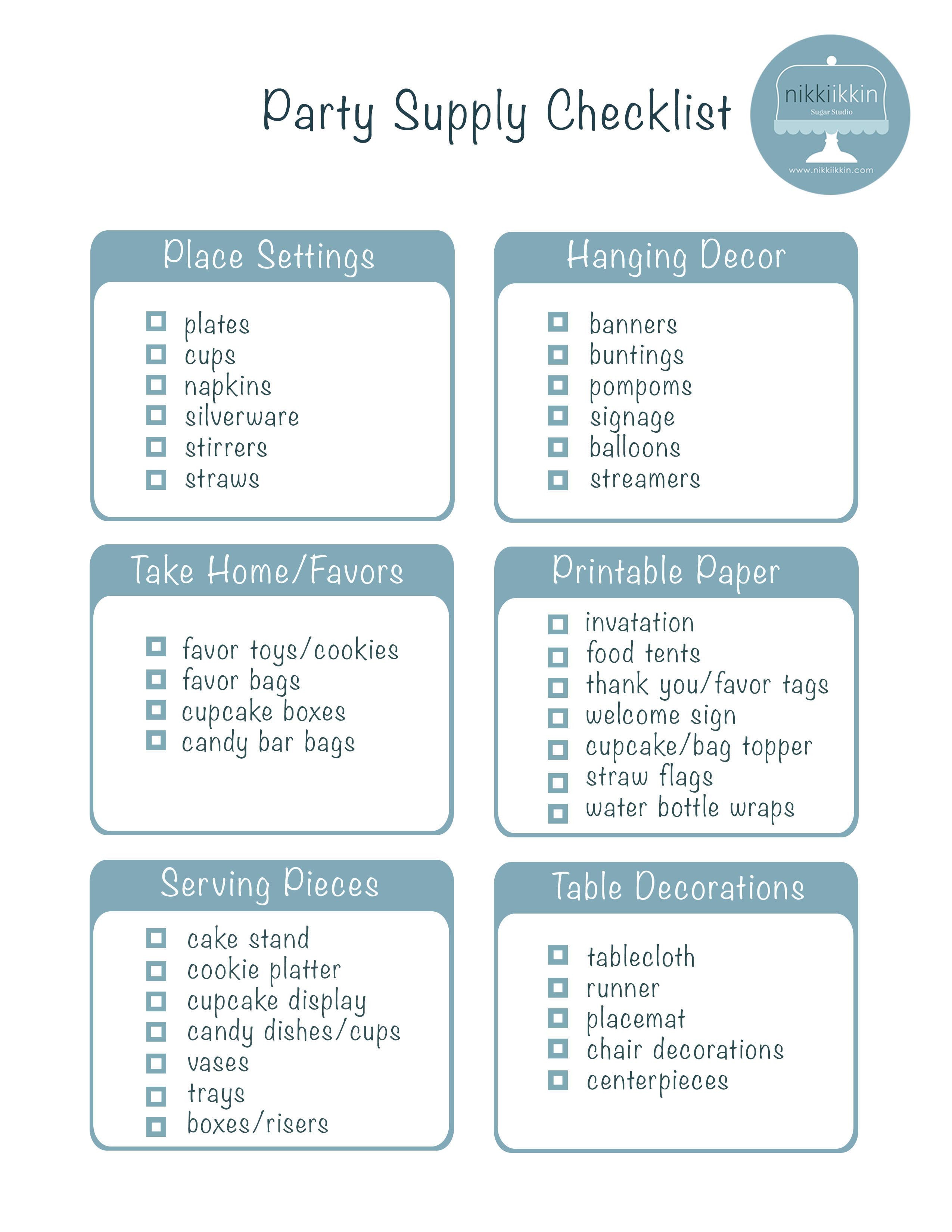 Best ideas about 1st Birthday Party Checklist . Save or Pin Party Planning Checklist is a Guaranty of a Successful Now.