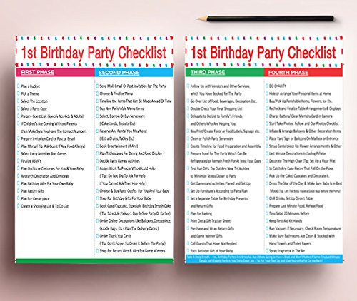 Best ideas about 1st Birthday Party Checklist . Save or Pin 1st Birthday Boy Balloons Set BONUS Printable Party Now.