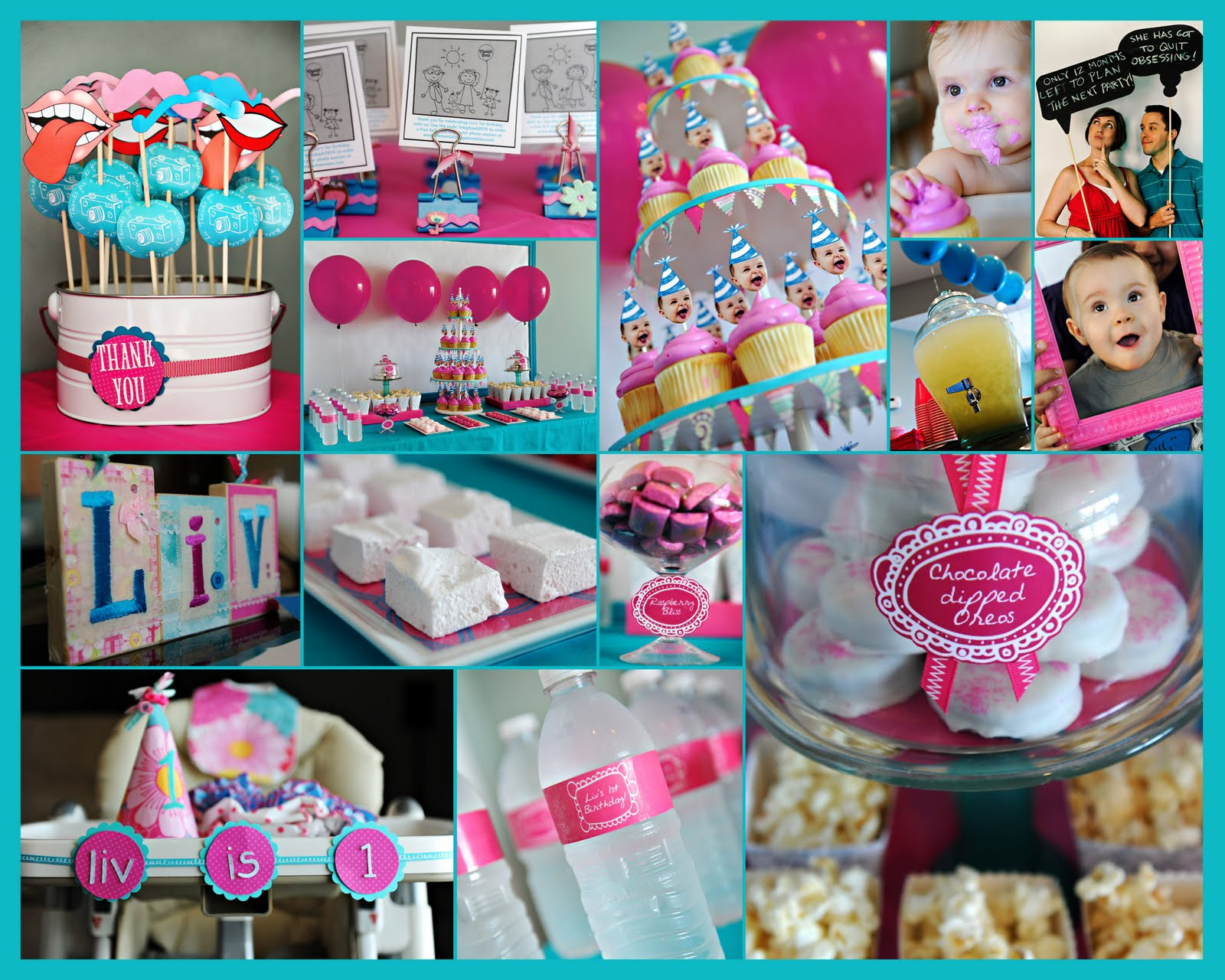 Best ideas about 1st Birthday Party . Save or Pin Elle Belle Creative e Year Old in a Flash A First Now.