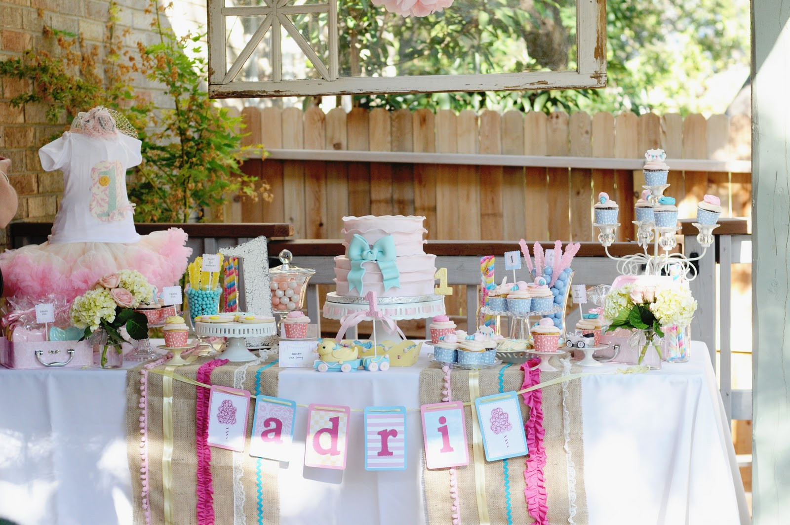 Best ideas about 1st Birthday Party . Save or Pin Fanciful Events Ribbons and Bows 1st Birthday Party Now.