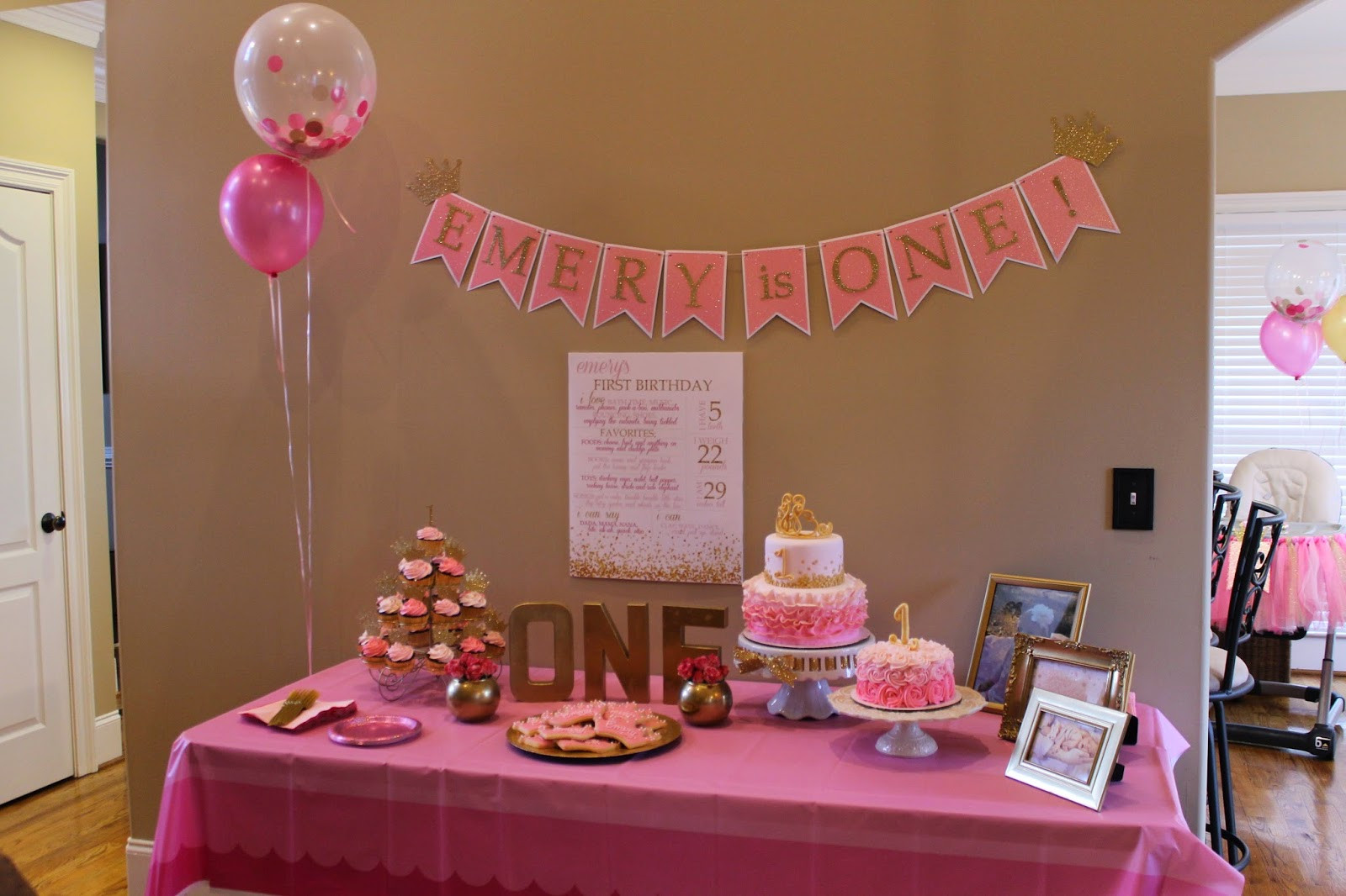 Best ideas about 1st Birthday Party . Save or Pin Richly Blessed Emery s 1st Birthday Party Now.