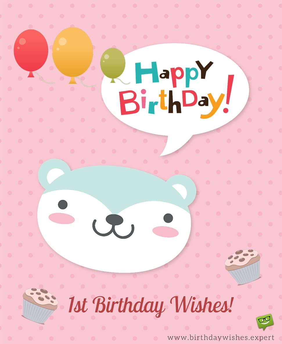 Best ideas about 1st Birthday Wishes . Save or Pin Birthday Wishes for Babies Now.