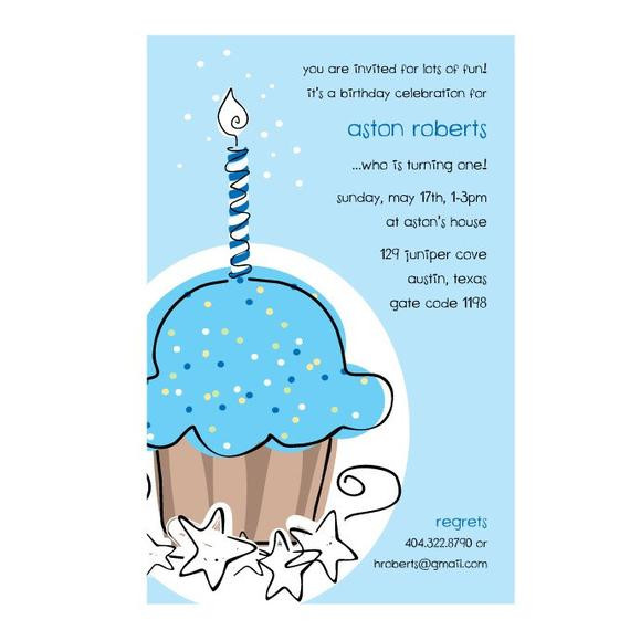 Best ideas about 1st Birthday Wishes For Baby Boy . Save or Pin Sweet Wishes 20 Boys First 1st Birthday Cupcake Now.