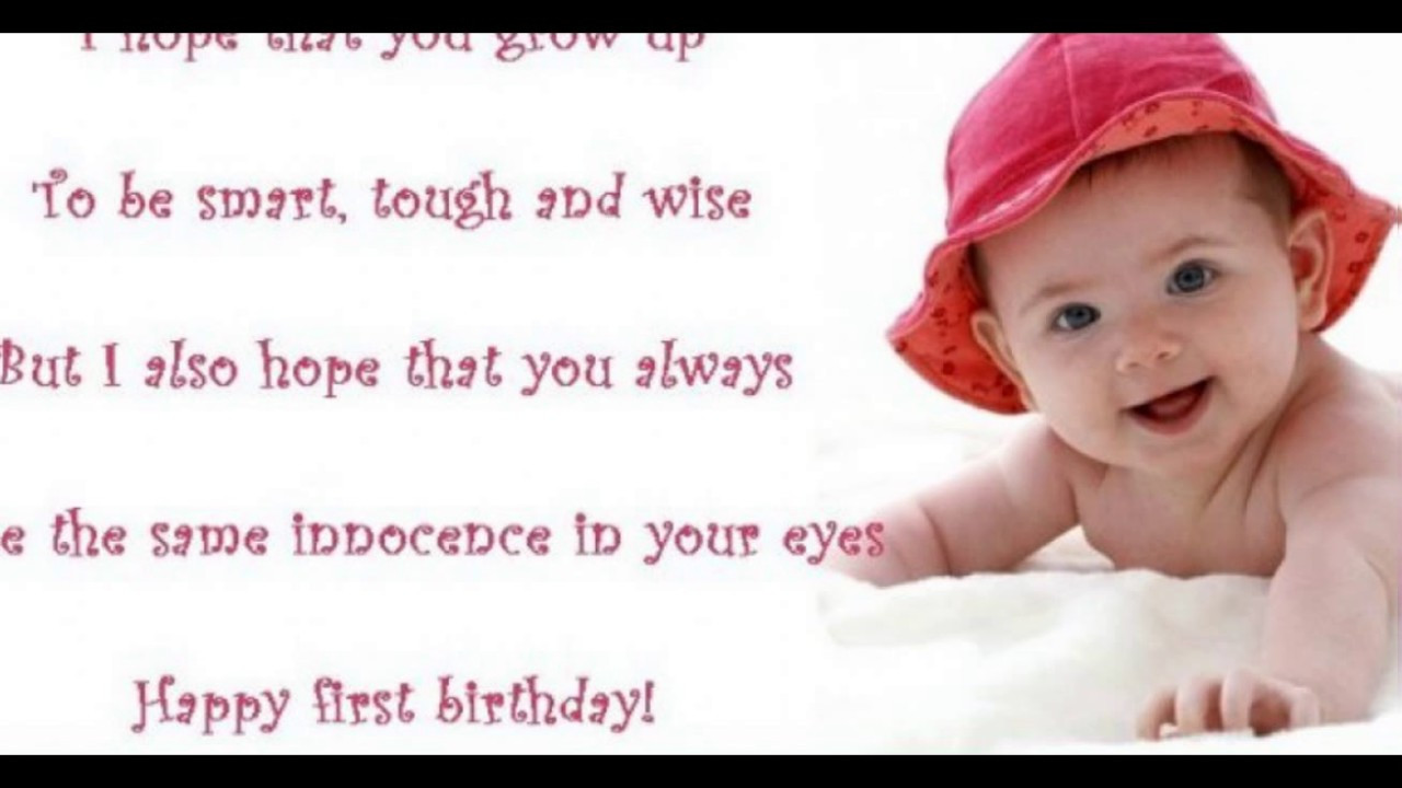 Best ideas about 1st Birthday Wishes For Baby Boy . Save or Pin 1st Birthday Wishes and Cute Baby Birthday Messages Now.