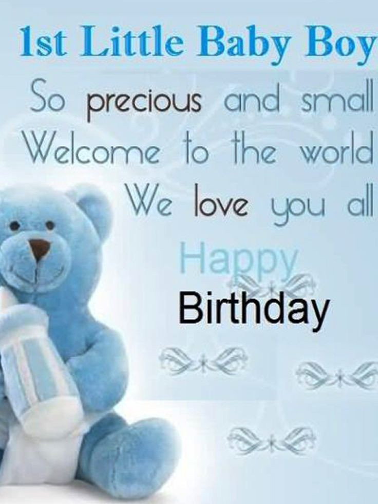 Best ideas about 1st Birthday Wishes For Baby Boy . Save or Pin 8 best Happy 1st Birthday Wishes for baby boy images on Now.