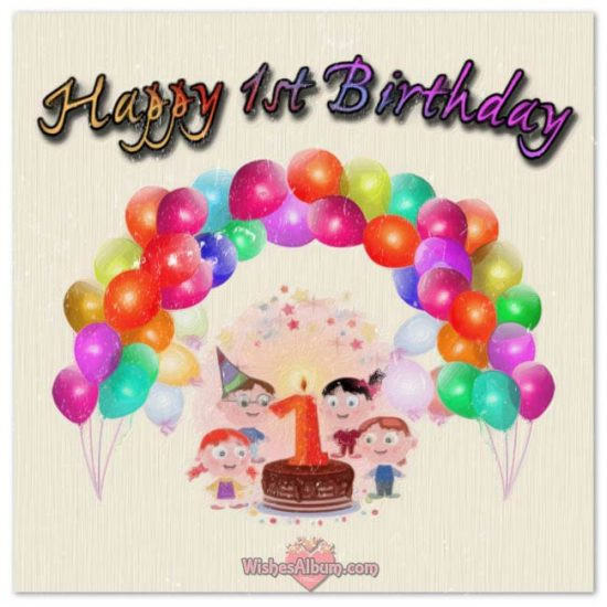 Best ideas about 1st Birthday Wishes For Baby Boy . Save or Pin Happy 1st Birthday Wishes For Baby Girls and Boys Now.