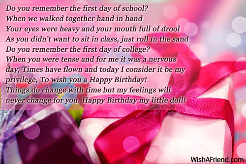 Best ideas about 1st Birthday Wishes For Daughter . Save or Pin Birthday Wishes For Daughter Now.