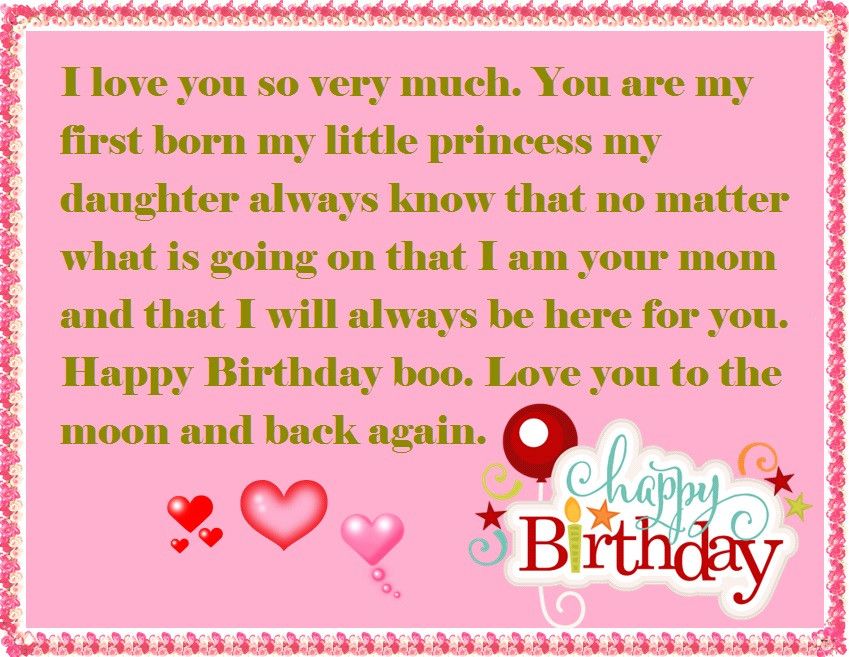 Best ideas about 1st Birthday Wishes For Daughter . Save or Pin Mother to Daughter Birthday Wishes Now.