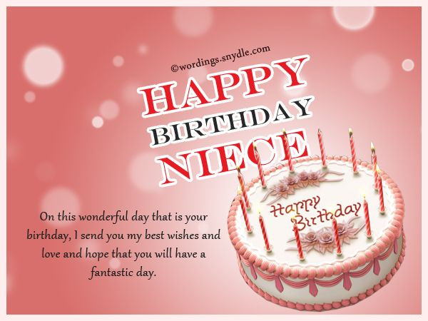 Best ideas about 1st Birthday Wishes For Niece . Save or Pin Niece Birthday Messages Happy Birthday Wishes for Niece Now.