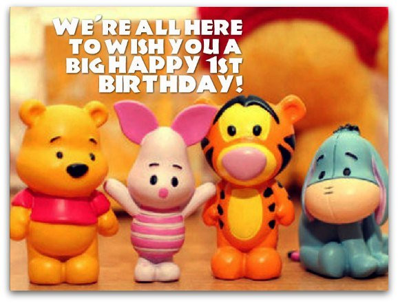 Best ideas about 1st Birthday Wishes . Save or Pin 1st Birthday Wishes Birthday Messages for 1 Year Olds Now.