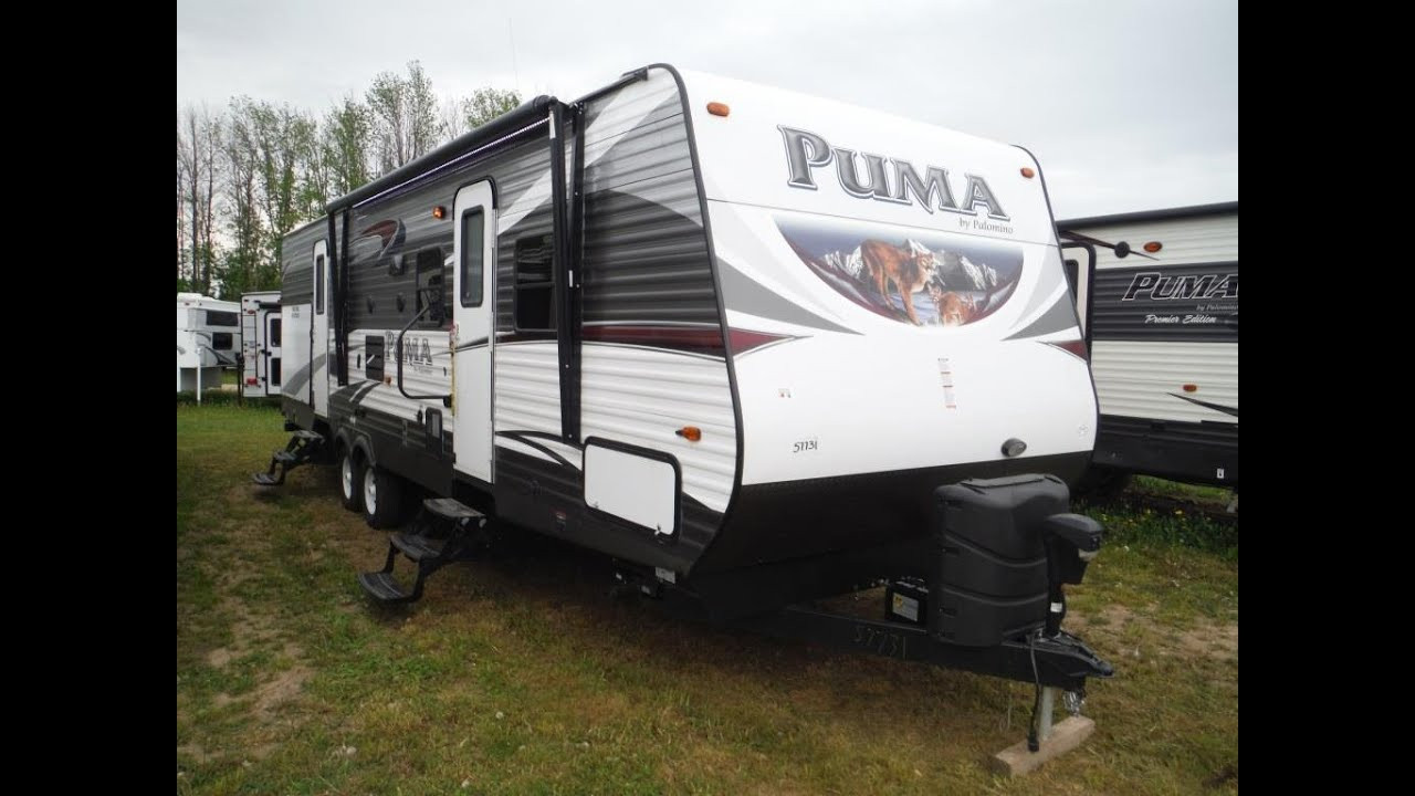 Best ideas about 2 Bedroom Travel Trailer . Save or Pin 2016 Puma 31BHSS 2 bedroom Travel Trailer with Bunks Now.