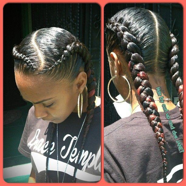 Best ideas about 2 Braids Hairstyle . Save or Pin mua dasena1876 Movie night 🎥 &qu Instagram photo Now.