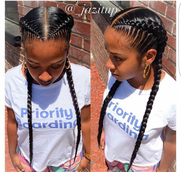 Best ideas about 2 Braids Hairstyle . Save or Pin Two Braids Hairstyles Now.