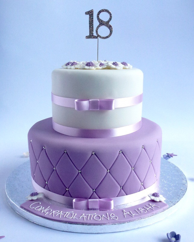 Best ideas about 2 Tier Birthday Cake . Save or Pin 2 tier Quilted Elegance Now.