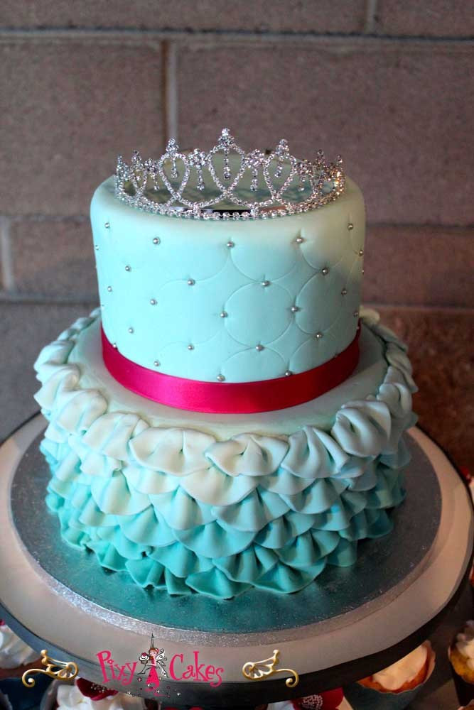 Best ideas about 2 Tier Birthday Cake . Save or Pin For the Girls – Pixy Cakes Now.