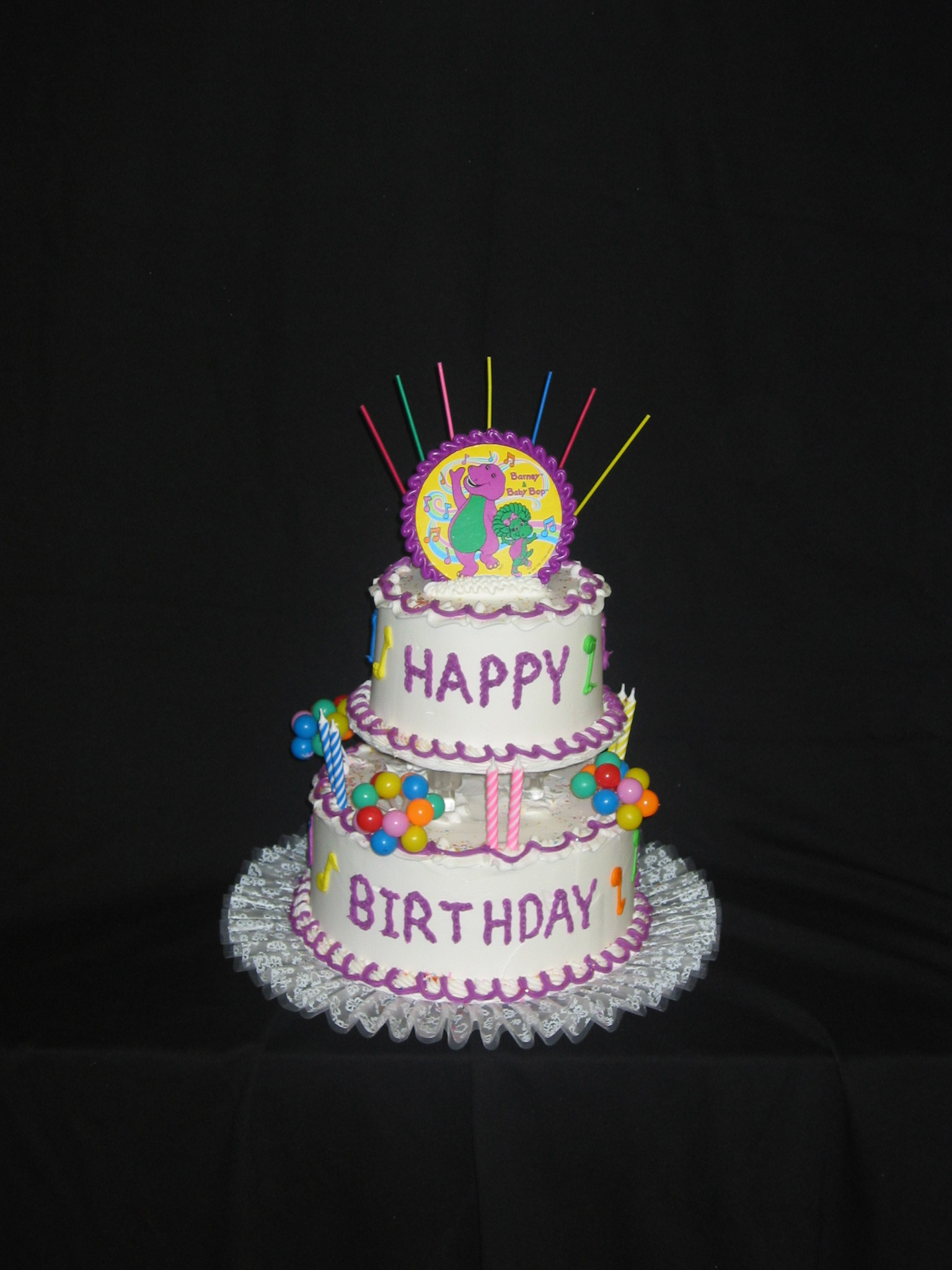 Best ideas about 2 Tier Birthday Cake . Save or Pin Tiered Birthday Cakes Taylor s Bakery Now.