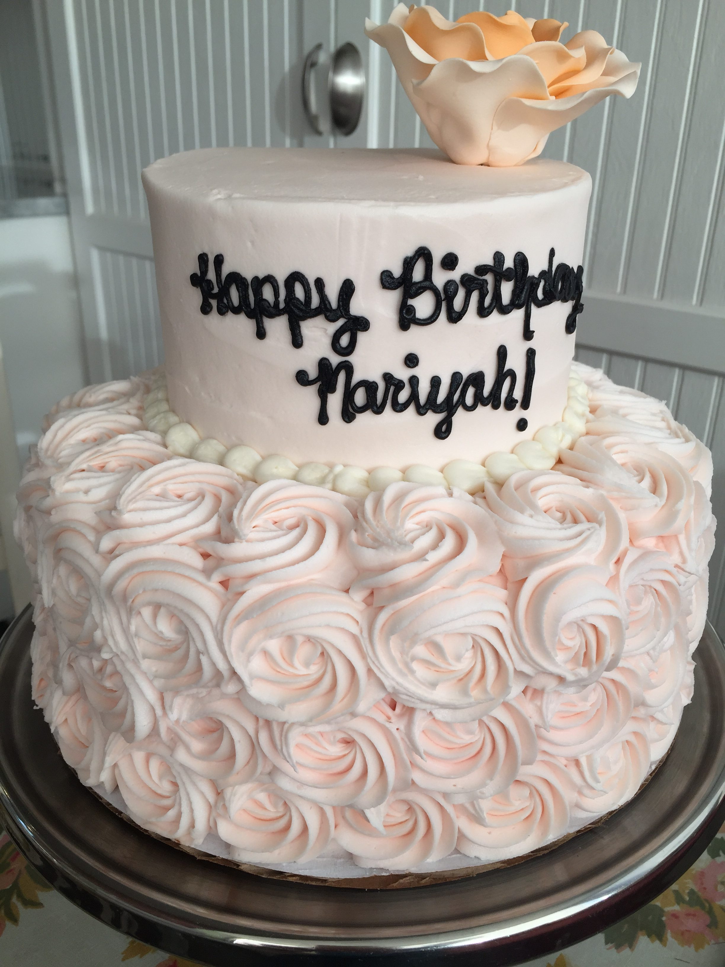 Best ideas about 2 Tier Birthday Cake . Save or Pin 2 Tier Birthday Cakes Now.