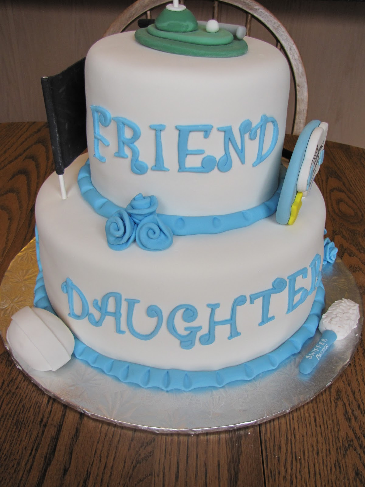 Best ideas about 2 Tier Birthday Cake . Save or Pin Ann Marie s Creative Cakes 30th 2 Tier Birthday Cake Now.