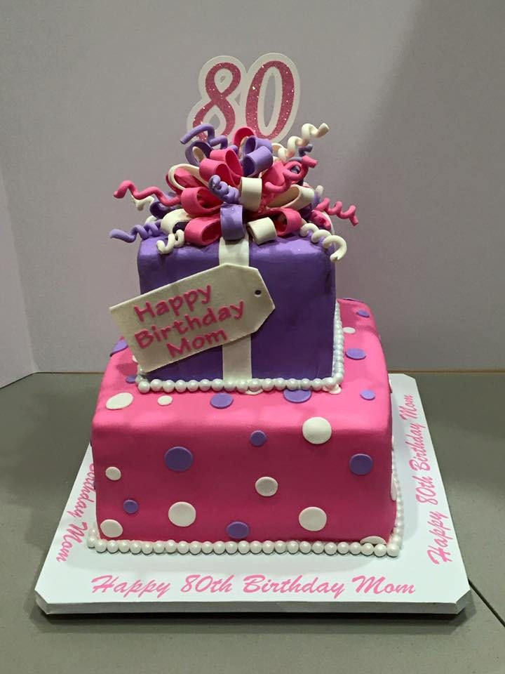 Best ideas about 2 Tier Birthday Cake . Save or Pin 2 tier square birthday cake in 2019 Now.