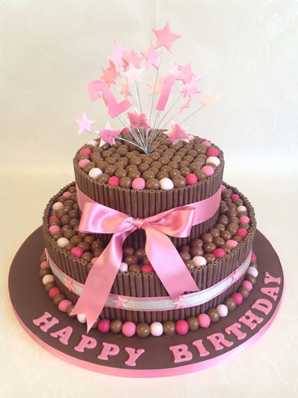 Best ideas about 2 Tier Birthday Cake . Save or Pin Birthday Cakes Reading Berkshire Now.
