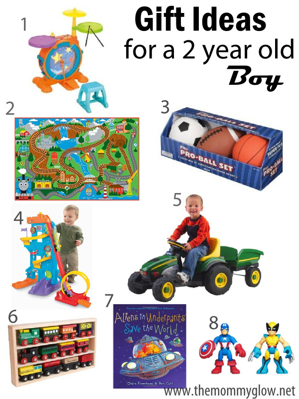 Best ideas about 2 Year Old Boy Gift Ideas . Save or Pin The Mommy Glow Gift Ideas for a 2 year old boy Now.