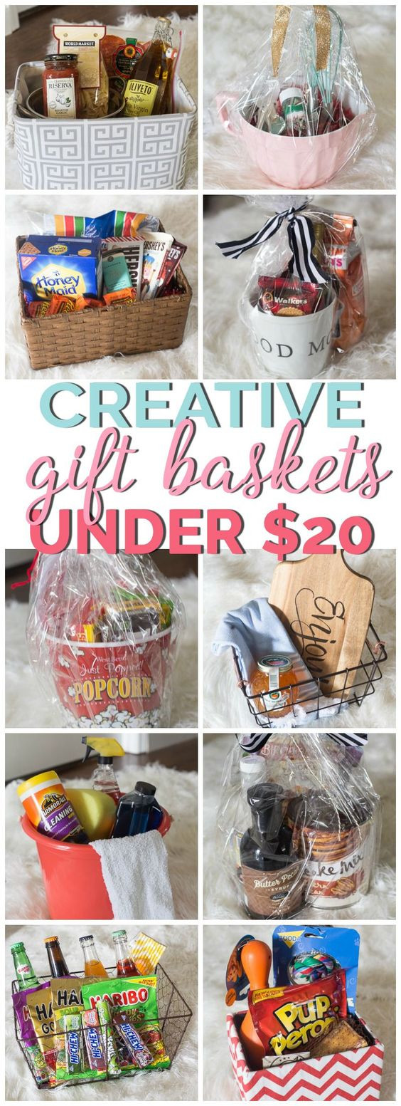 Best ideas about $20 Gift Ideas . Save or Pin Creative Gift Basket Ideas Under $20 Now.