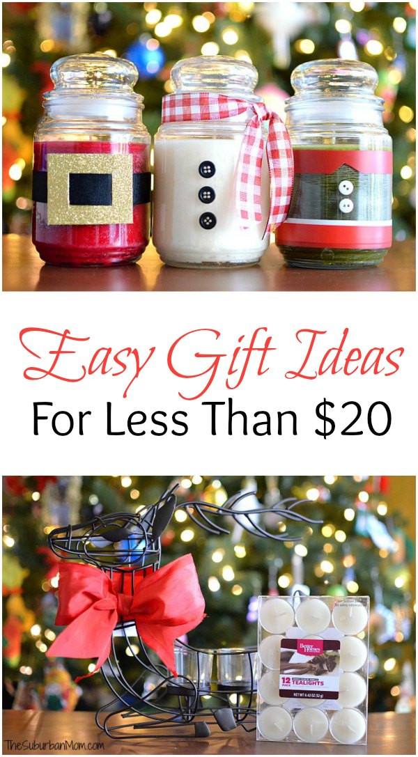 Best ideas about $20 Gift Ideas . Save or Pin DIY Christmas Candles And Other Easy Gift Ideas For Less Now.