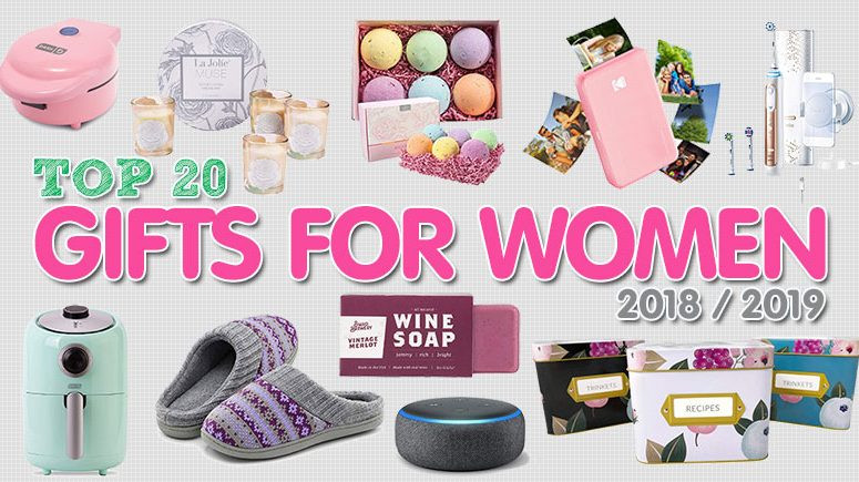 Best ideas about 2019 Gift Ideas For Her . Save or Pin Best Gifts for Women 2018 Her – Top Christmas Gifts 2018 Now.